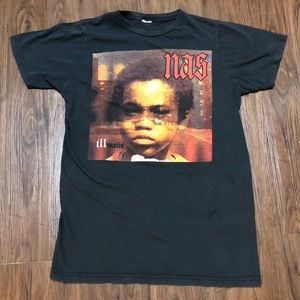 Other - 🔥 90s vintage Nas Illmatic rap tee